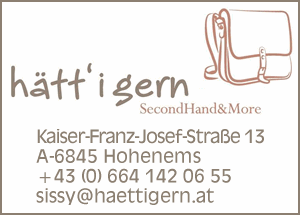 Hätt'i gern SecondHand & More, Hohenems